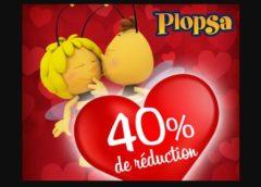 Offre Saint Valentin Plopsa - 40% sur tous les parcs Plopsa