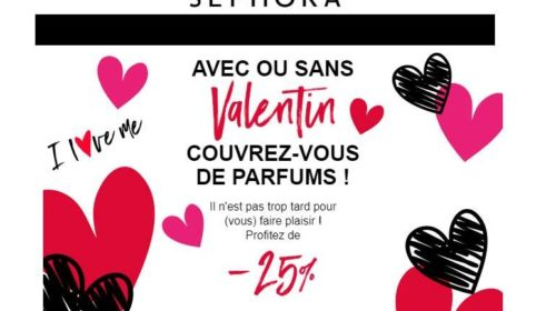Offre Saint Valentin Sephora