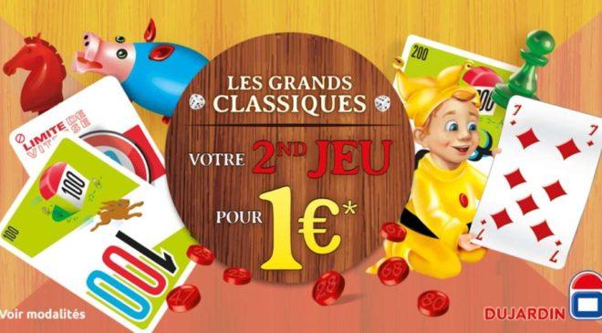Offre de remboursement les classiques Dujardin le second à 1€