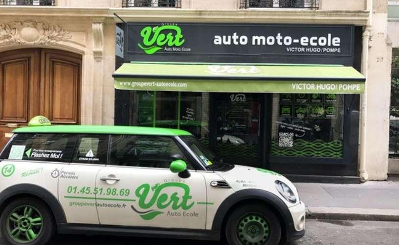 Pack Permis Auto-école Groupe Vert Paris moitié prix