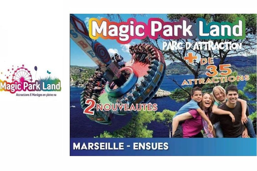 Parc d'attractions Magic Park Land Pass saison illimité pas cher