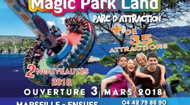 Parc d'attractions Magic Park Land Pass saison illimité pas cher