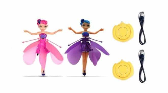 Seulement 9,16€ le lot de 2 fées volantes Flying Fairy