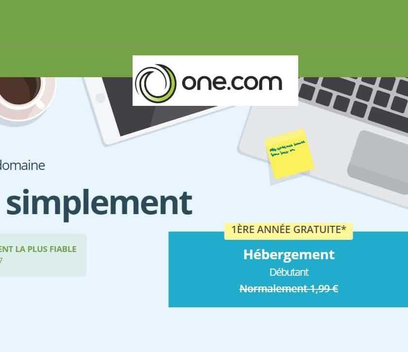 Site internet quasiment gratuit hébergement + nom de domaine + email