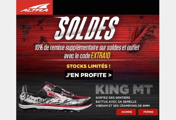 Soldes Altra chaussure de running
