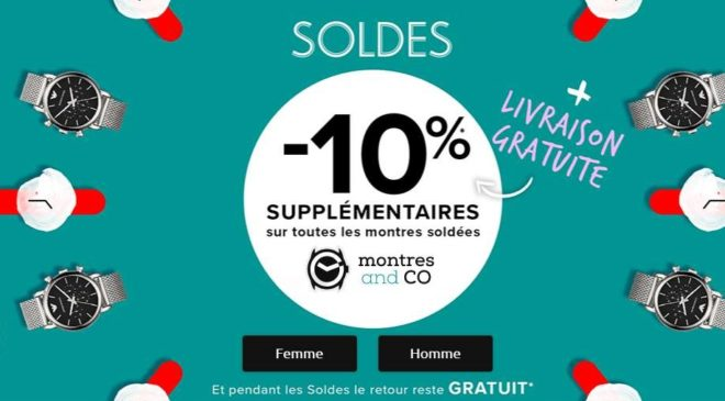 Soldes Montres and CO