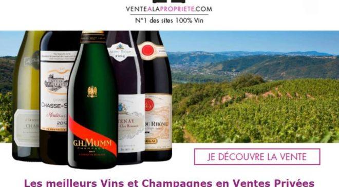 Vente à la Propriété achetez vos vins et champagnes en ventes privées
