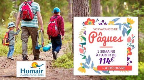 Vente Flash Vacances De Pâques 1 Semaine à Partir De 114€