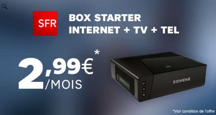 Vente privée Box SFR Starter