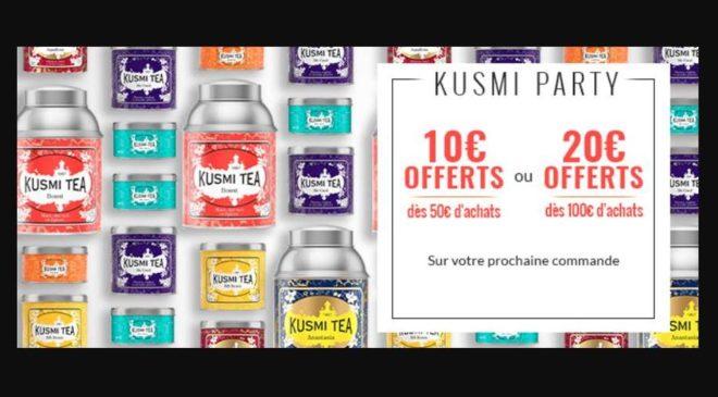 code promo Kusmi Tea