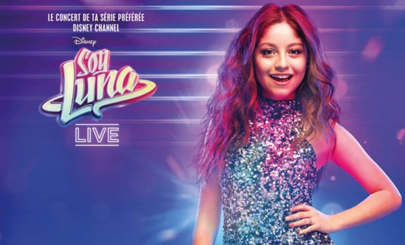 concert soy luna live pas cher partir de 30 marseille nice montpellier. Black Bedroom Furniture Sets. Home Design Ideas