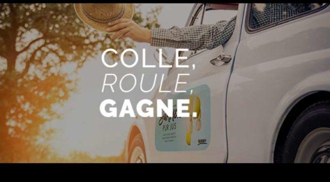 gagnez de l'argent avec votre voiture en collant des stickers avec It'smycar