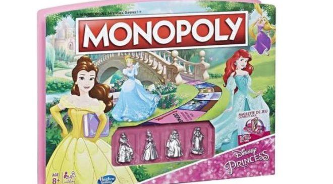jeu Monopoly Disney Princess pas cher