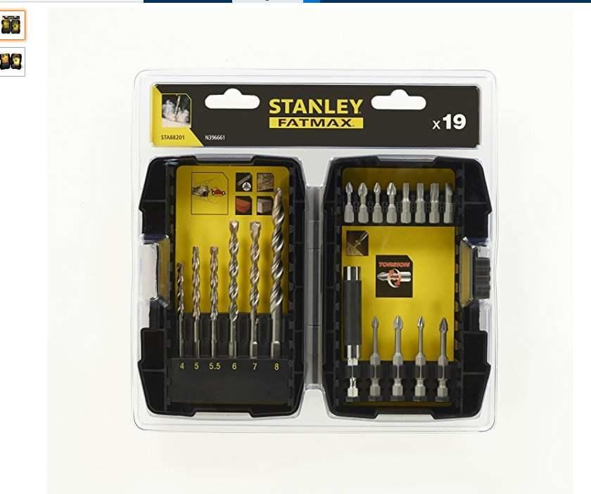 remise sur les accessoires de perçages Stanley