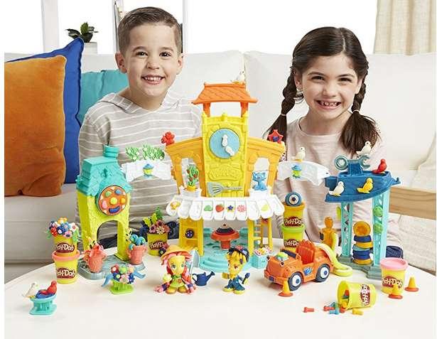 ville Play-Doh Town pas chère AMAZON