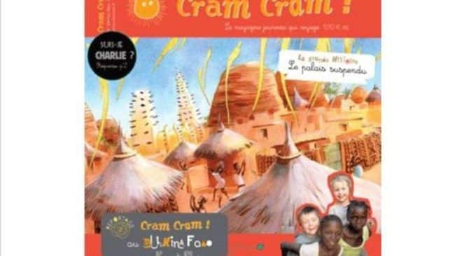 1 magazine jeunesse Cram Cram au Burkina Faso en PDF