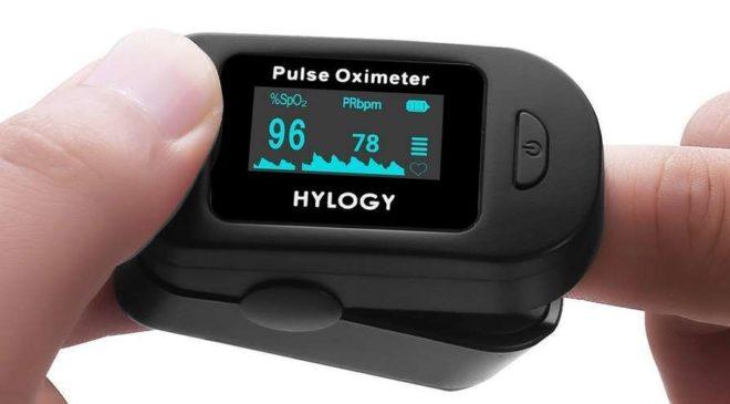 10,99€ Oxymètre de pouls Hylogy