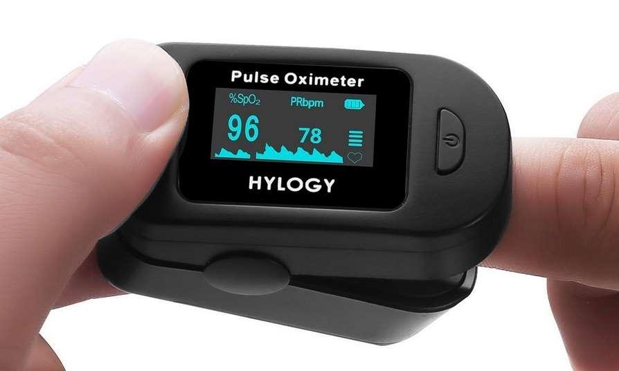 10,99€ Oxymètre de pouls Hylogy (saturation pulsée en ...