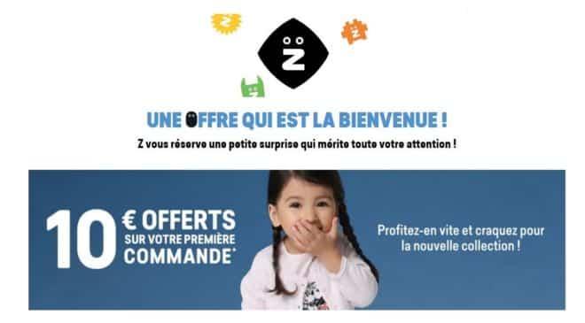 10€ de remise sur Z-Eshop