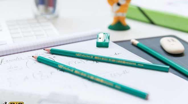 1,39€ les 12 crayons à papier BIC Evolution HB