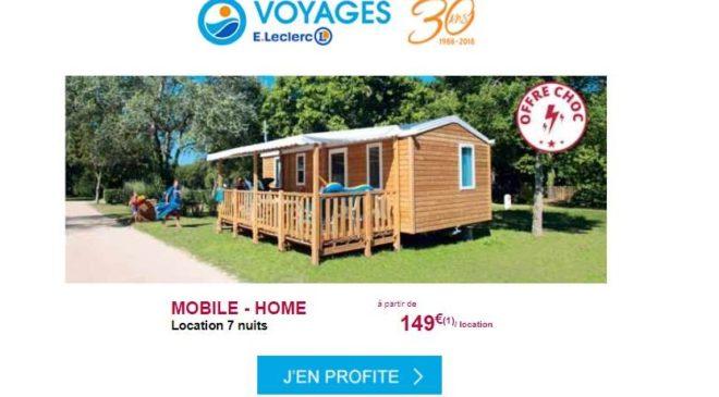 149€ le séjour 7 nuits avec Leclerc Voyages