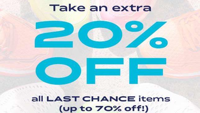 20% de remise en plus sur le site Clearance Asics