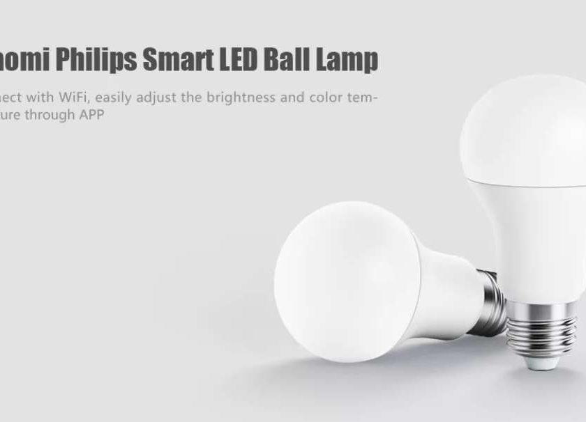 8,28€ ampoule connectée Philips Smart LED Xiaomi