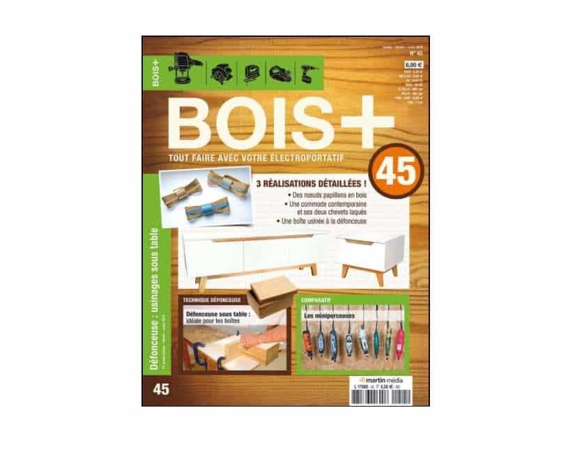 Abonnement magazine Bois + pas cher