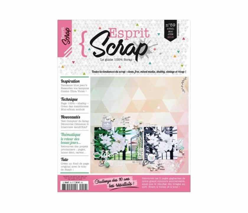 Abonnement magazine Esprit Scrap pas cher