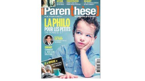 Abonnement magazine Parenthèse pas cher