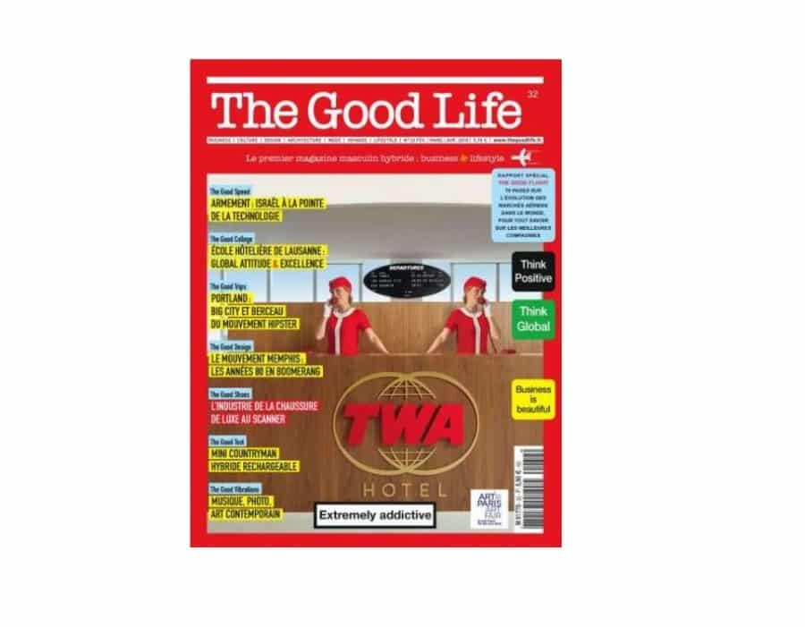Abonnement magazine masculin The Good Life pas cher : 13