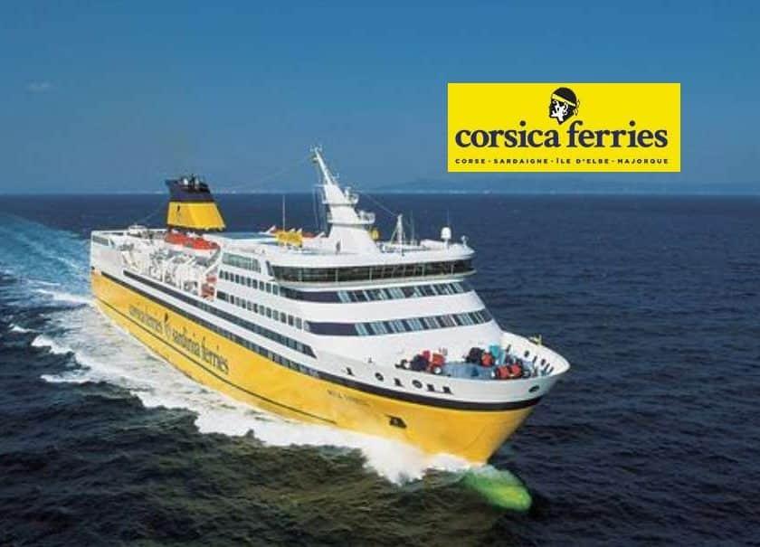 Bon d'achat Corsica Ferries Toulon-Majorque