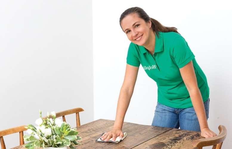 Bon d'achat ménage à domicile sur Helpling