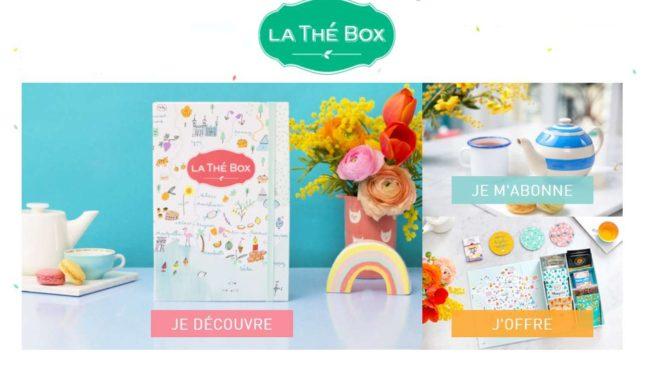 Bon plan La Thé Box en vente privée