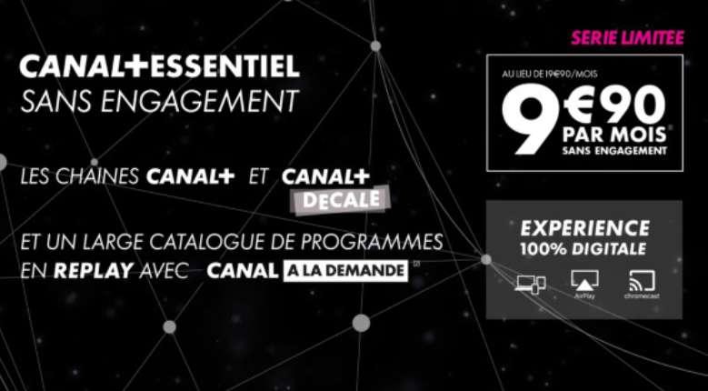 Canal Plus Essentiel en vente privée
