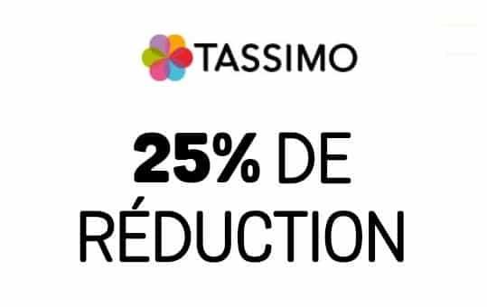 Capsules Tassimo 25% de remise