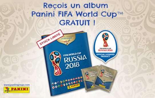 Dreamland : Album Panini WordCup Russia 2018 gratuit