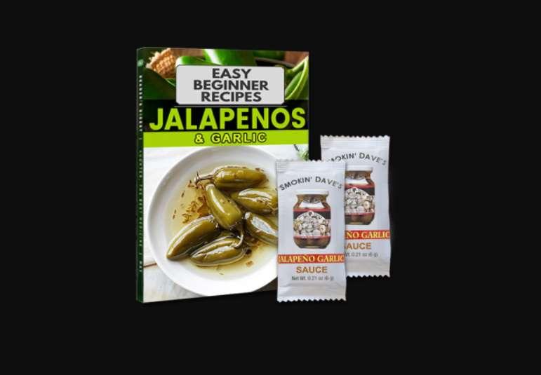 Echantillon gratuit sauce piment Jalapeno et Ail