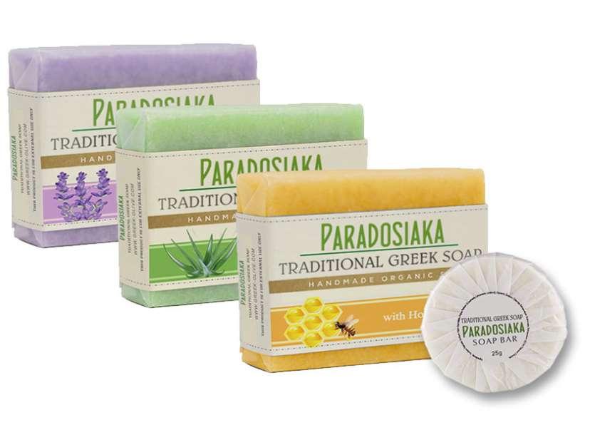 Echantillon gratuit savon à l'huile d'olive Paradosiaka