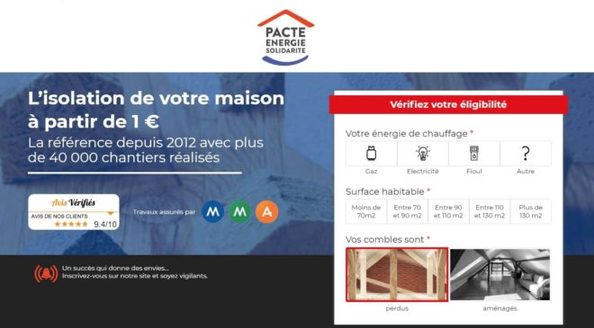 Isolation habitation archives bons plans malins - Pacte energie solidarite 2017 gouv ...