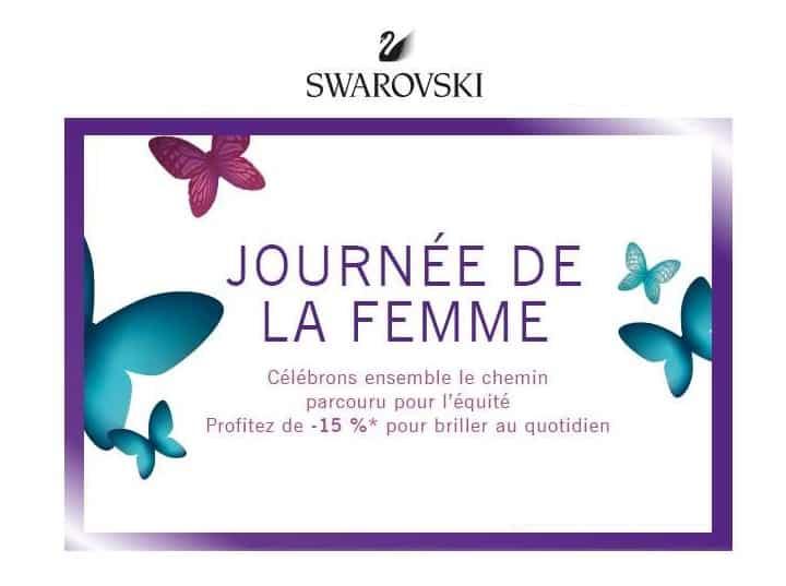 Journée de la femme Swaroski