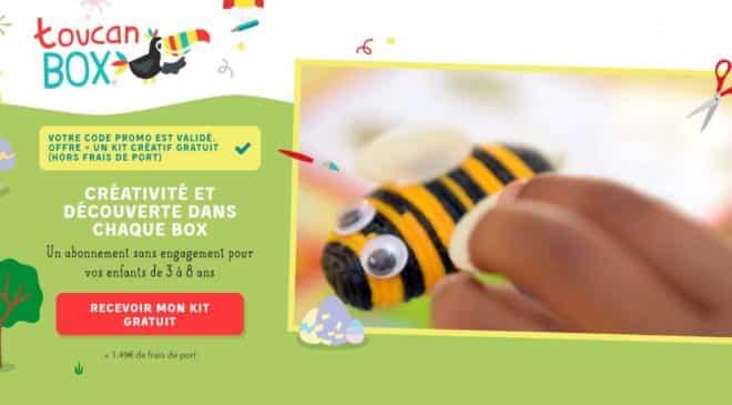 Kit créatif ToucanBox spécial Pâques gratuit