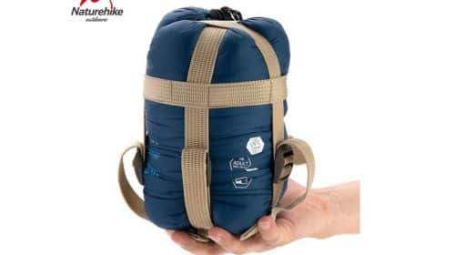 Moins de 12€ le sac de couchage ultra compact et léger Lixada