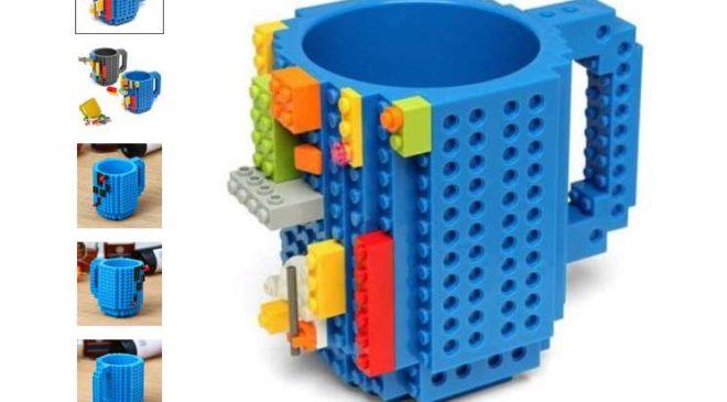 Moins de 5€ le Mug type LEGO avec livraison gratuite