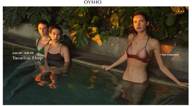 Opération livraison express gratuite sur Oysho