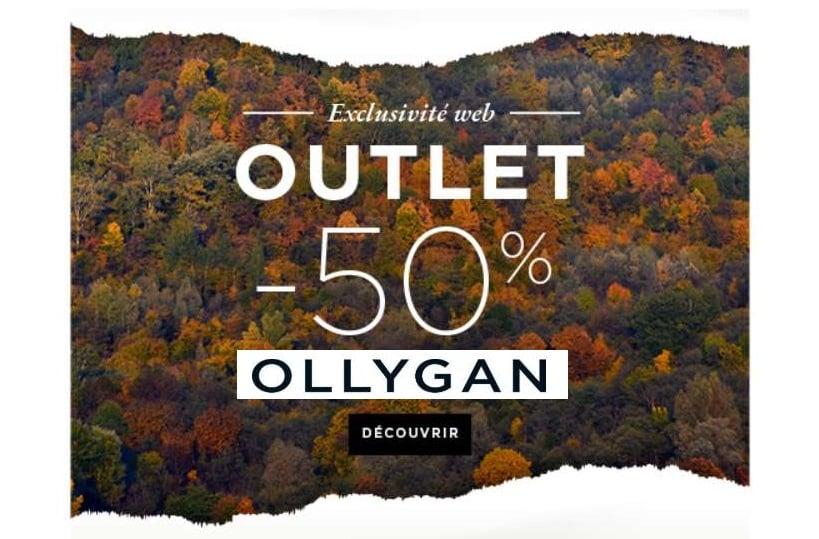 Outlet Olly Gan tout à -50%