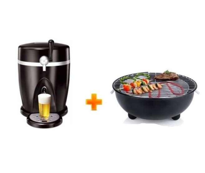 pack tireuse bi re barbecue lectrique 107 99 sur cdiscount. Black Bedroom Furniture Sets. Home Design Ideas
