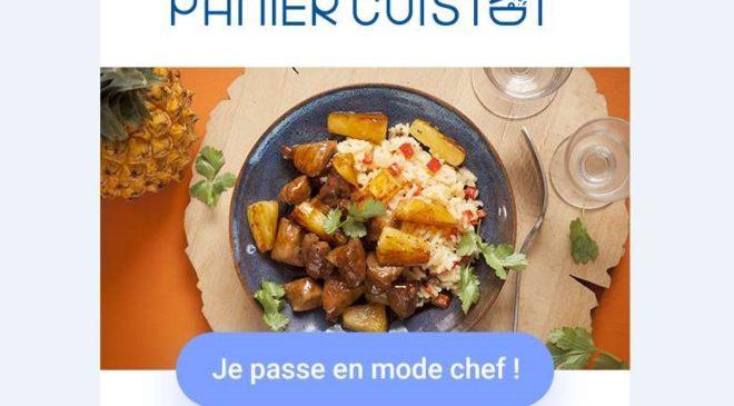 Repas livré à domicile Panier Cuistot 8€ de remise
