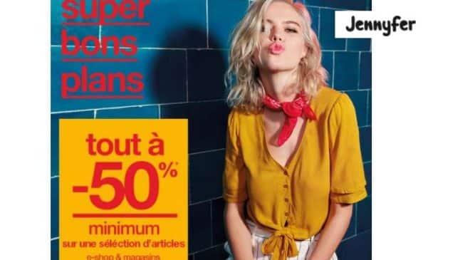 Super bons plans de Jennyfer toute la sélection à -50%