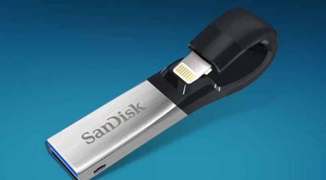 Vente flash clé SanDisk iXpand 128 Go